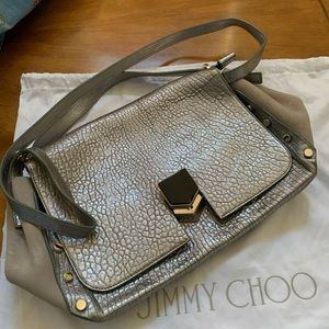 Jimmy Choo large locket band bag
